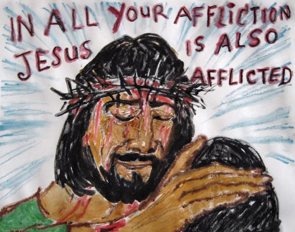 Jesus is Afflicted by Astrid
